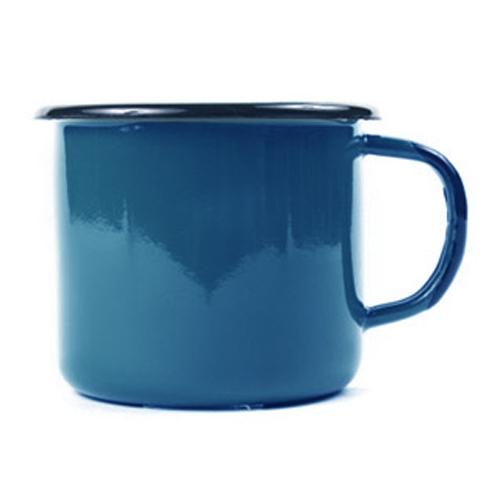 에말리아 법랑 머그컵 블루, 350ml