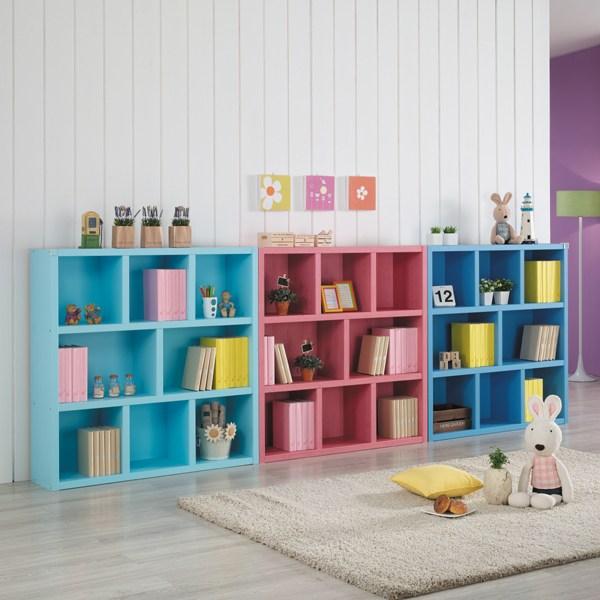 나산가구 3단 1150 책장 유아동책장, 화이트