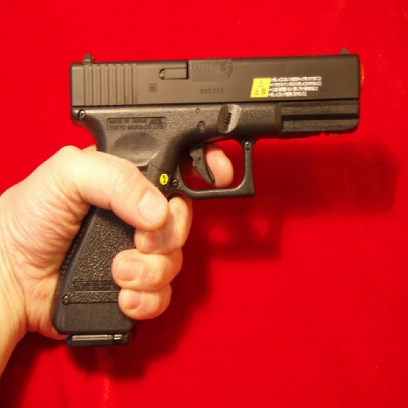 마루이 전동글록18 권총, 전동글록18+비비탄+건전지+비비로더+LED라이트+레이저, 검정