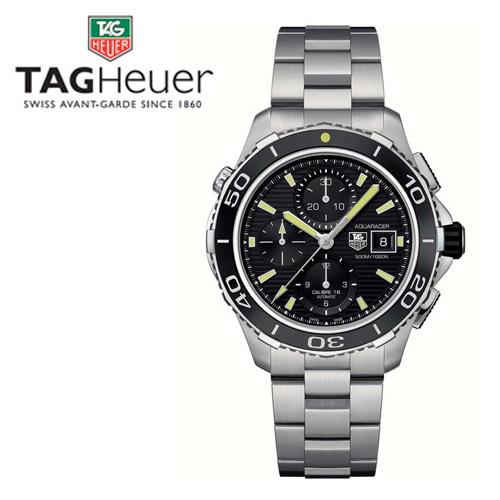 태그호이어 남성용 메탈 시계 CAK2111.BA0833