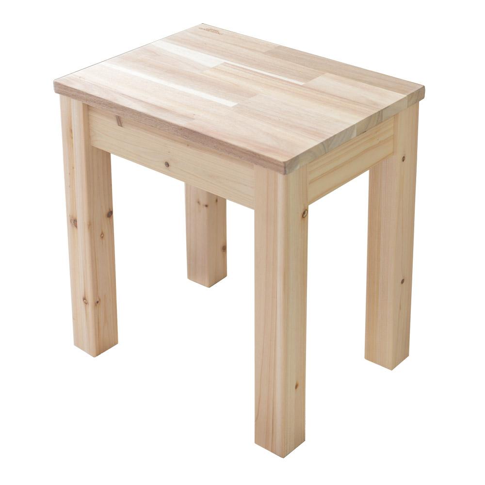 다니엘우드 식탁의자 벤치 스툴 화장대 원목 의자 핸드메이드, 아카시아1벤