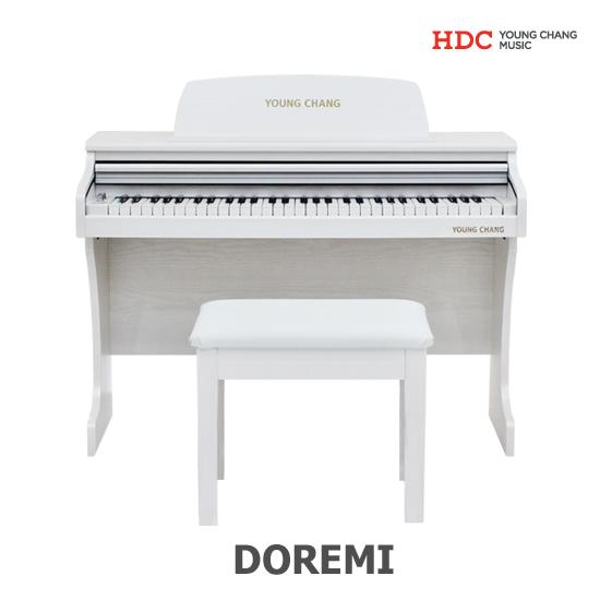 영창뮤직 도레미 디지털피아노, 화이트