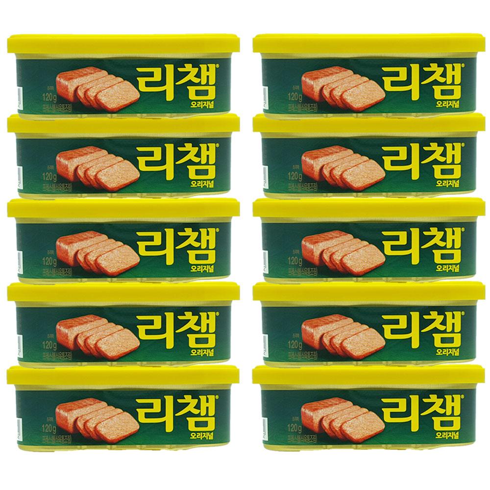 리챔 햄통조림, 120g, 10개