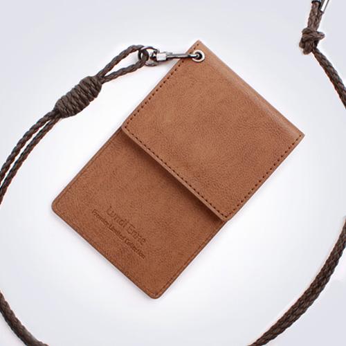 랑디엔느 커버드S 카드홀더 이니셜각인 카드목걸이 남녀공용카드목걸이