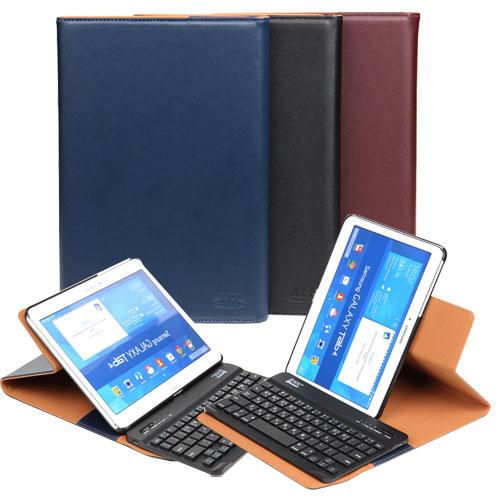 골드다이크 AZA 블루투스 키보드 태블릿PC 케이스, 갤럭시탭4 10.1 (t530/t531/t535/t536/웅진북클럽), 네이비