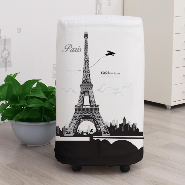 다샵 프리미엄 스판 제습기커버, 에펠탑, 35x65x23