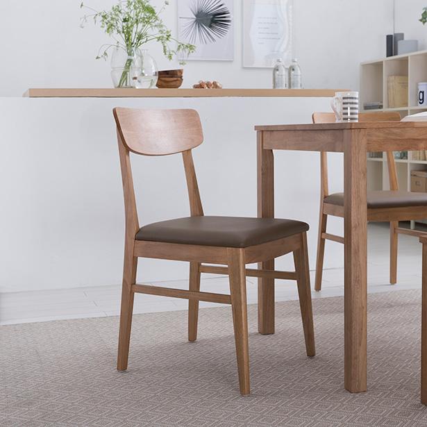 리바트온라인 뉴시나몬 원목의자, 단일상품