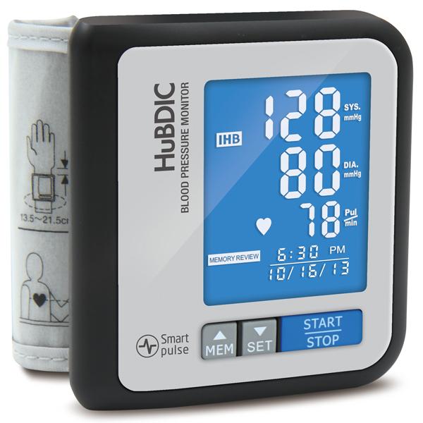 휴비딕 비피첵 손목형 혈압계 HBP-700, 블랙