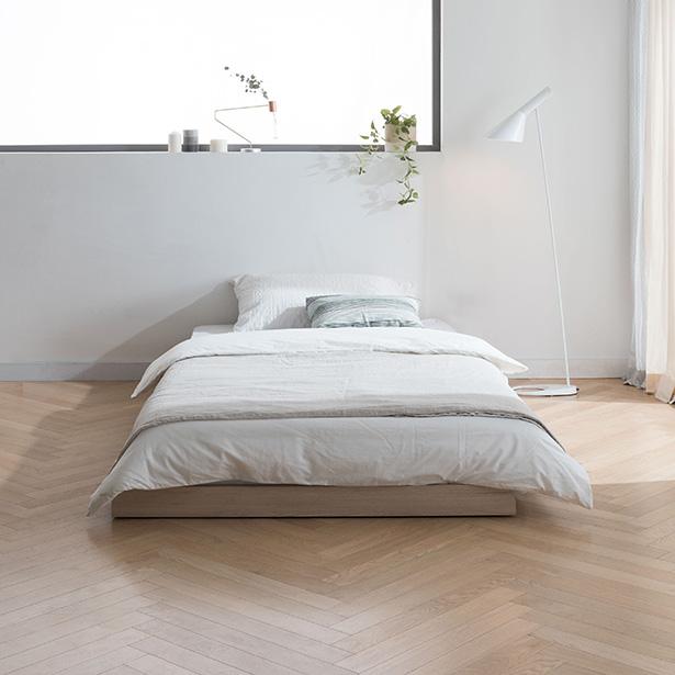 리바트온라인 뉴트 저상형 슈퍼싱글 침대 기본형(매트별도), 단일상품
