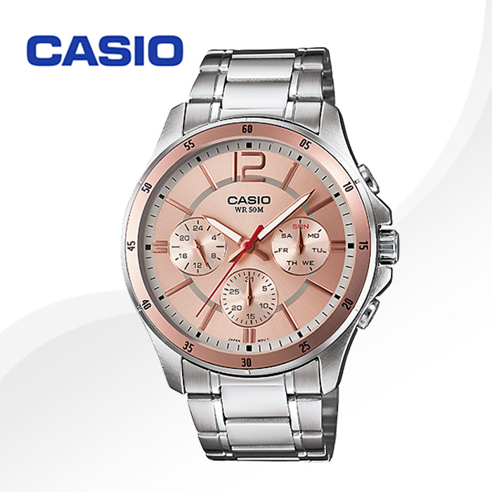 카시오 남성용 메탈 시계