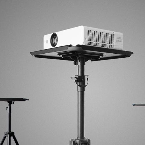 티오피 프로젝터삼각대 프로젝트 휴대용 스크린 거치대, 단일색상