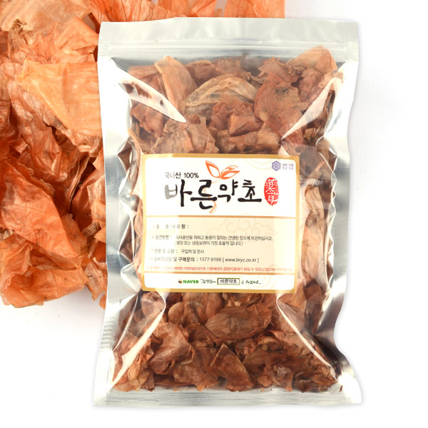 바른약초 국내산 양파껍질, 100g, 1개