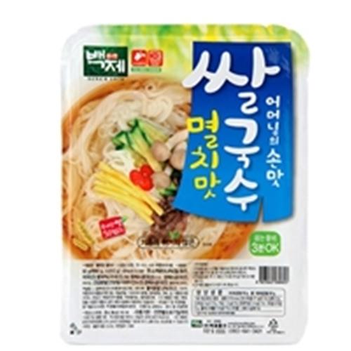 백제 멸치맛 쌀국수92g, 92g, 20개입