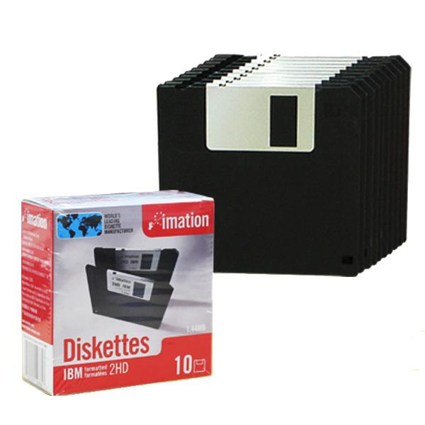 이메이션 플로피 디스켓 10장 2HD 플로피디스크, 플로피디스켓