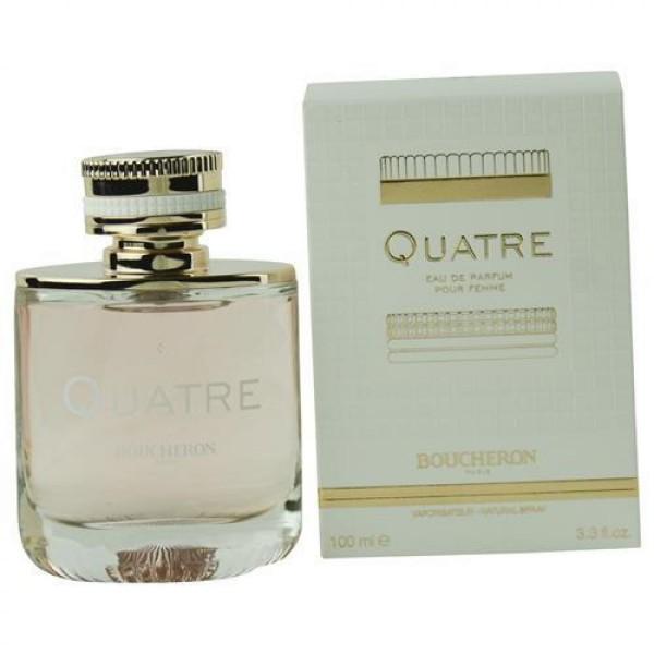 [미국 직구]Boucheron Quatre By Boucheron Eau De Parfum Spray 3.4 Oz FN270051, 상세설명참조, -
