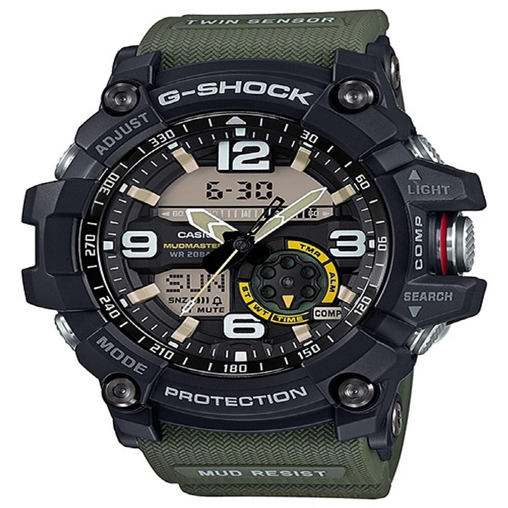 GG-1000-1A3 카시오 지샥 시계 빅페이스 신상모델 입고 AS가능 당일발송 군인시계