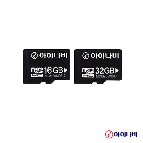 아이나비 SDHC Micro sd 16GB, SDHC 32GB