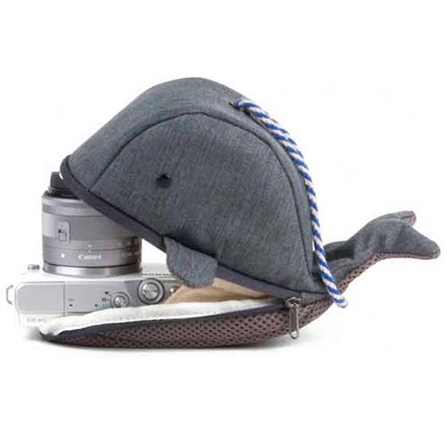 캐논 EOS M 시리즈 전용 고래파우치 0402, 그레이, 1개