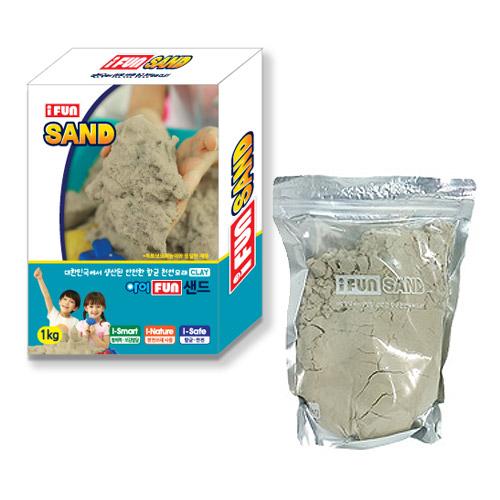 옥토넛 아이펀샌드 모래놀이 리필 핑크퐁모래 옥토넛모래 촉촉이모래 리필모래 모래놀이세트, 1kg