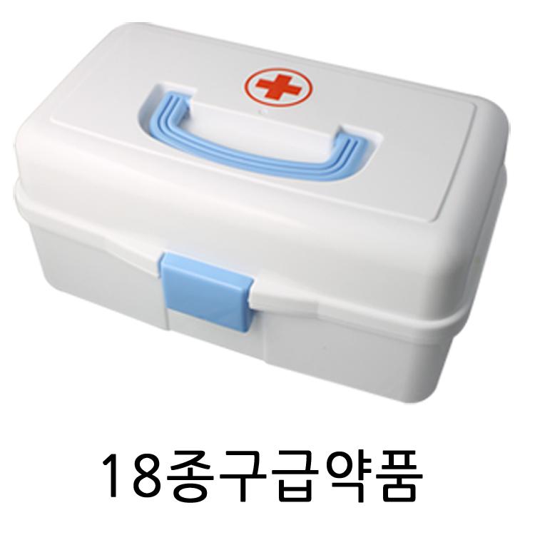 우리집안전지킴이 스피드구급함, 스피드구급함/중+18종구급약품 (POP 1558280)