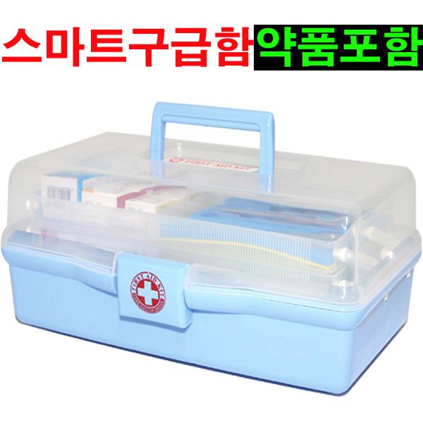 스마트 구급함 구급상자 2호 약품포함, 1세트 (POP 102358405)