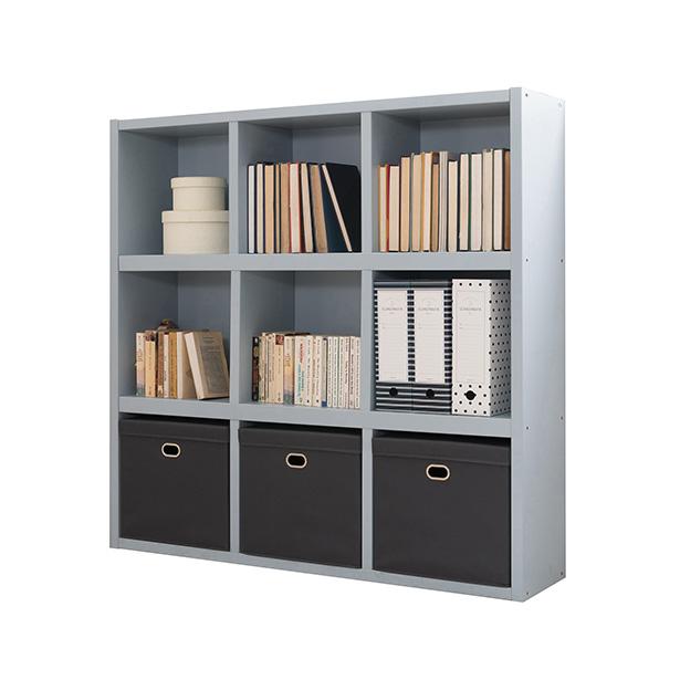 리바트온라인 뉴프렌즈 1200 낮은책장 (블루 핑크) 책장, 파스텔블루(EJSH162743BL)