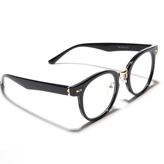 리끌로우 RECLOW 1056 BLACK 안경 뿔테
