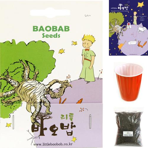 리틀바오밥 바오밥나무 씨앗 8종 DIY세트 + 사은품4종, A-1 디지타타, 1팩