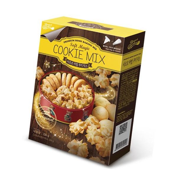 브레드가든 쿠키만들기세트 마법쿠키믹스 홈베이킹믹스, 1개, 마법쿠키믹스 만들기세트