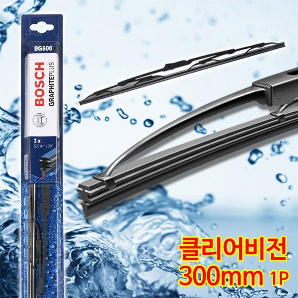 보쉬 그라파이트 플러스 와이퍼 블레이드, 300mm, 1개