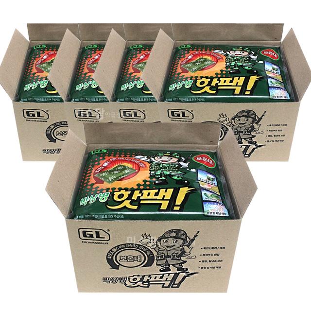박상병 핫팩 140g-50매, 1박스