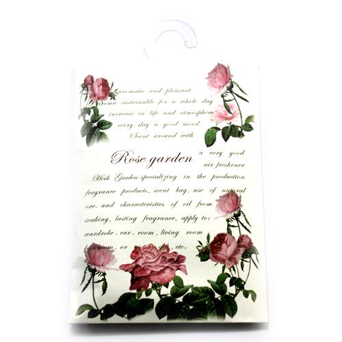 J-garden 옷장방향제 포켓방향제 종이옷장방향제 종이방향제, 로즈가든 대형