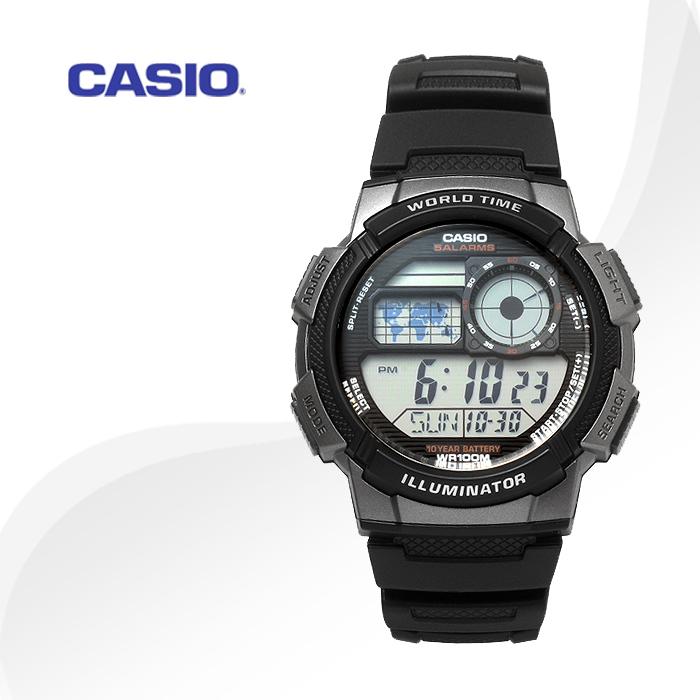 CASIO AE-1000W-1B 카시오 시계 스포츠 디지털시계