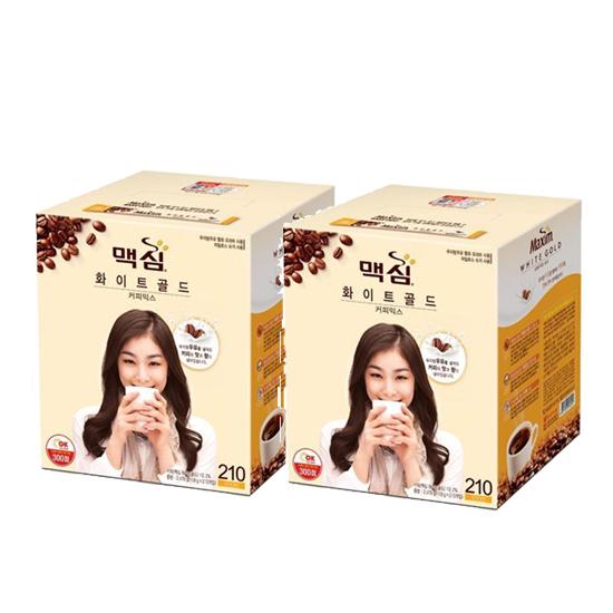 맥심 화이트 골드 커피믹스, 420개, 11.7g