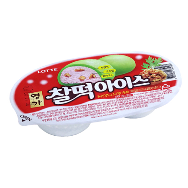 인기 아이스크림 박스로, 1box, 찰떡아이스 24개