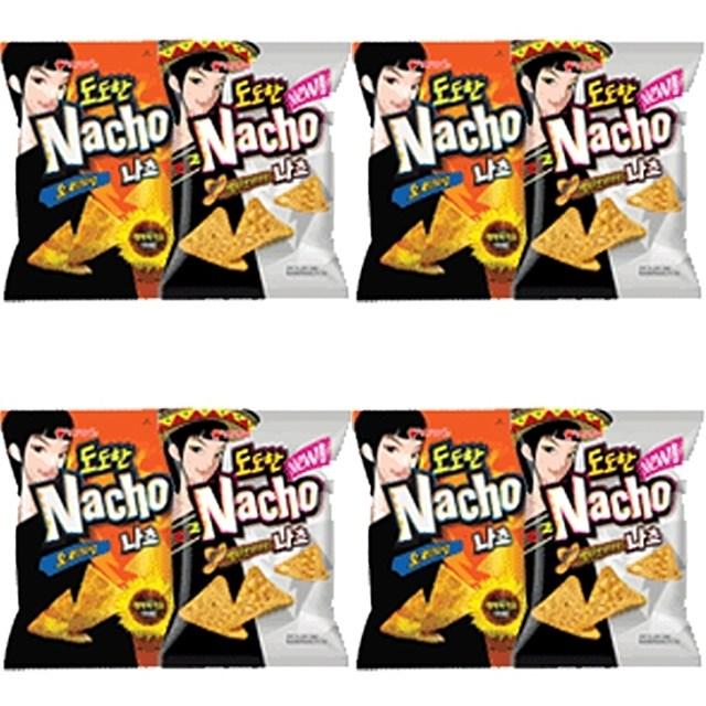 오리온)도도한 나쵸 치즈 92g(오리지날) x 10개 20대 여성을 위한 스타일리쉬 스낵, 본상품선택, 1개