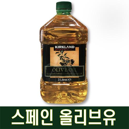커클랜드 시그니춰 퓨어 올리브유 3L, 1통