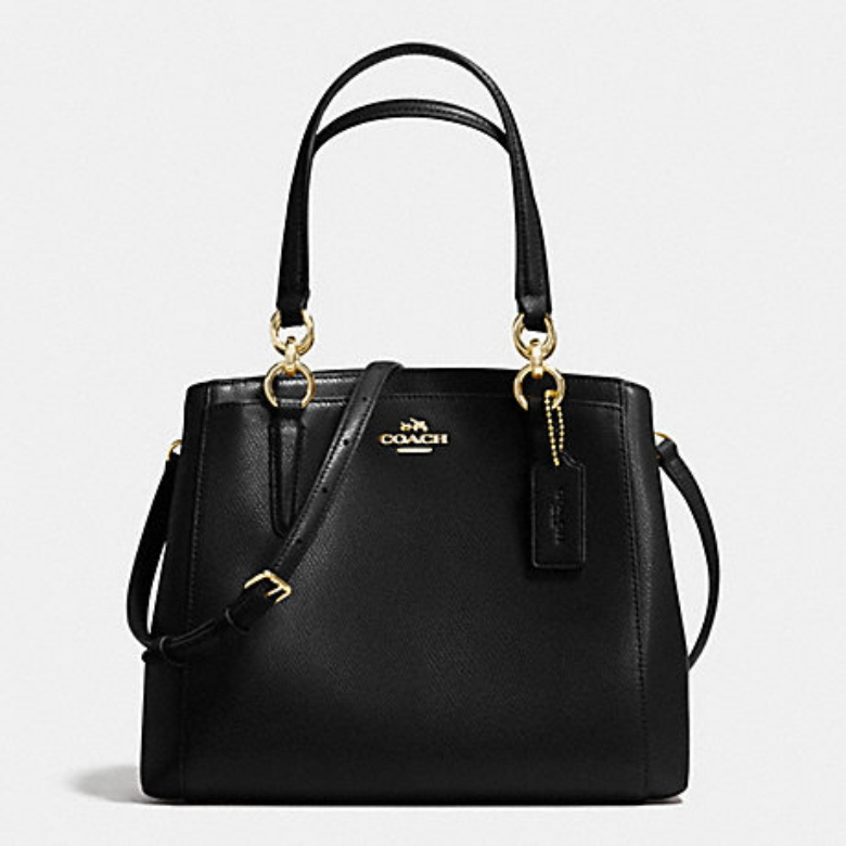 코치 [HAPPYNY] COACH_ 57847 MINETTA CROSSBODY BAG BLACK
