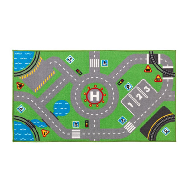 이케아 STORABO 도로모양 놀이매트/러그, 단일상품