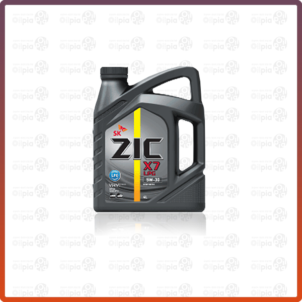 ZIC X7 LPG 5W30 4L 엔진오일, 지크 X7 Fe 5w20 4L