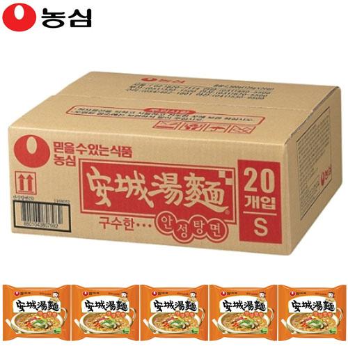 농심 내입에안성맞춤 안성탕면(봉지면) -총20개입x1, 20개