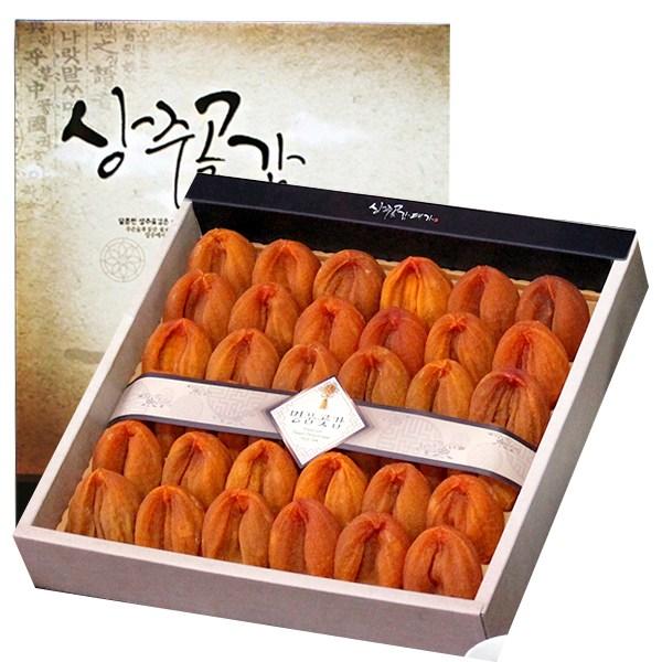 상주곶감 쫄깃한 건시 세트, 선물용 건시1.5kg(36-40과)