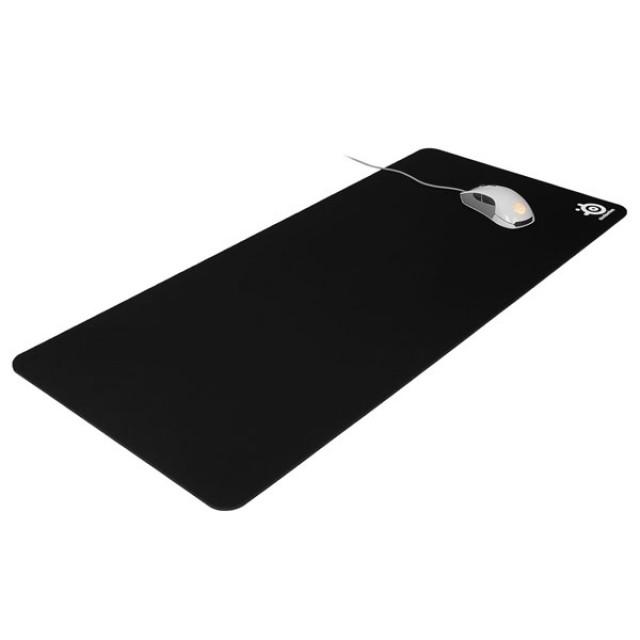 Steelseries Qck XXL 블랙 게이밍 마우스 패드, 단일상품