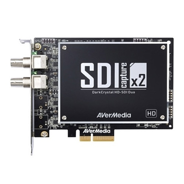 (AVerMedia)HD-SDI Duo 캡쳐보드 2채널지원(WH0143), 본상품선택