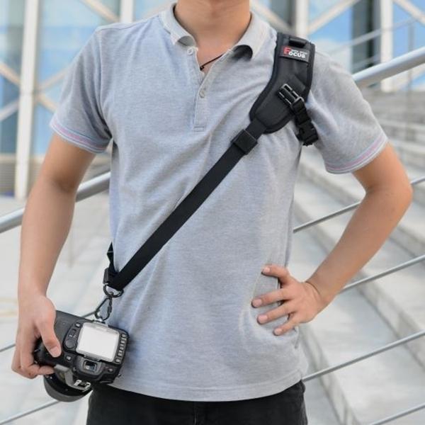 CareFree 퀵 스트랩 카메라 어깨끈 F-1, 블랙, 1개