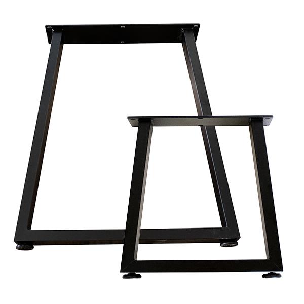 아이베란다 A자 철재다리 철재벤치다리(개당판매), 300size(테이블용)