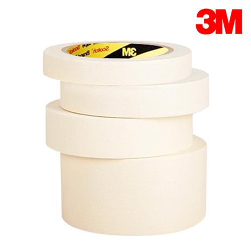 3M 종이 마스킹 테이프, 마스킹아이보리24mm, 1개