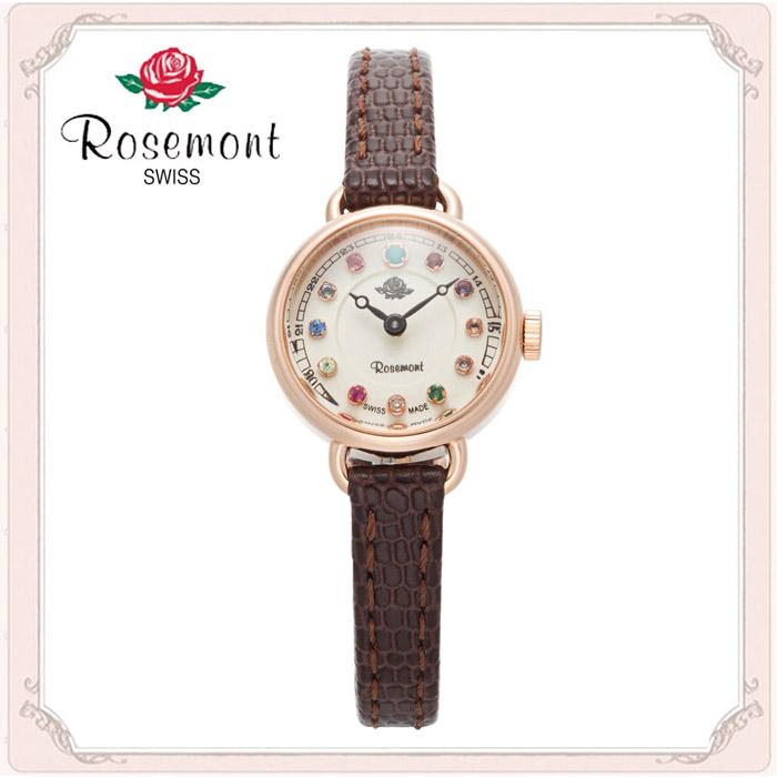 [로즈몽] 탄생석 RS#45-05BR [매장방문수령가능] ROSEMONT 여성시계 우림본사정품 가죽시계 백화점A/S가능 [사은품증정] 손목시계 RS45-05BR