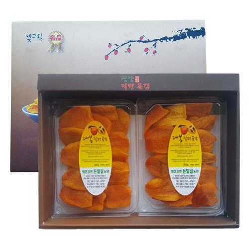 백운산 광양 자연이 만든 곶감/건시, 1박스, 광양 대봉감 말랭이 선물세트 300g*2
