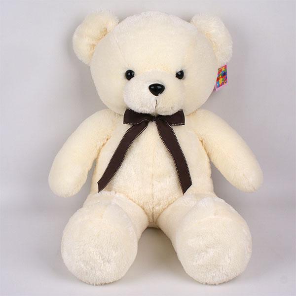 맥스토어 대형 곰인형 몽e베어 동물 봉제 인형, 크림, 120cm